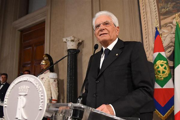 意大利总统:望各党派尽快商讨决定联合组阁事宜