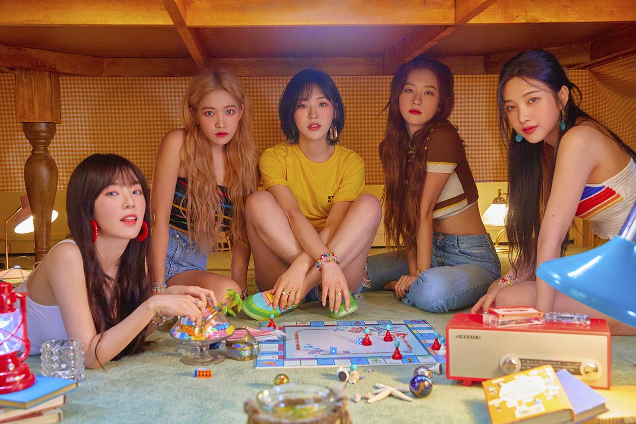 Red Velvet今天迎来新歌《Umpah Umpah》的初放送舞台