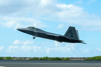 规模不小:美国空中国民警卫队在夏威夷演习