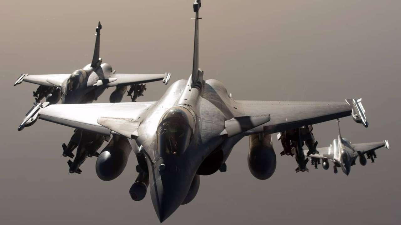 """印度9月底将接收首批法国造""""阵风""""战斗机"""