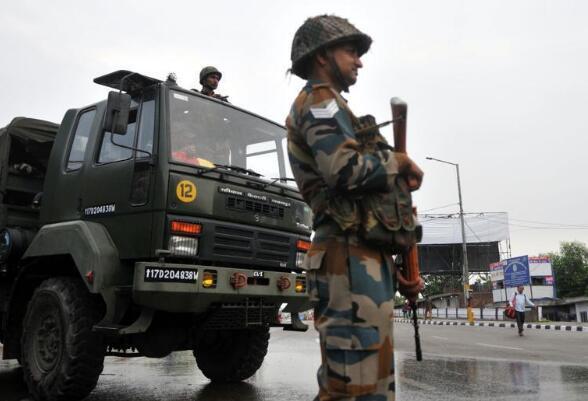又一印度士兵在印巴交火中死亡 印方一周内已伤亡4人