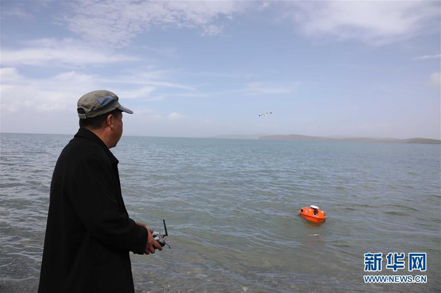 黄河源头水文观测记