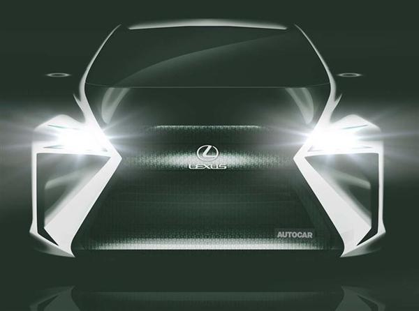 雷克萨斯发力新能源:首款纯电概念车将亮相