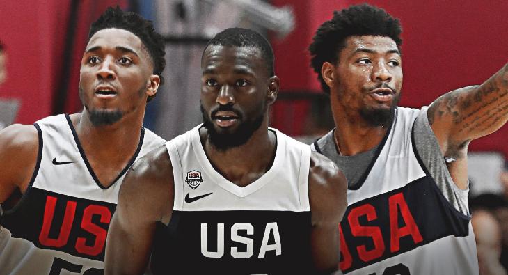 美国男篮认命3名队长 沃克米切尔斯马特齐当选