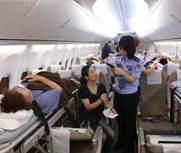 老挝车祸受伤游客被接回