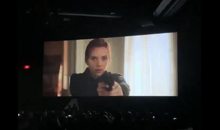 D23 Expo《黑寡妇》电影泄露片段 寡姐大战昔日姐妹