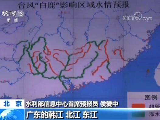 """台风""""白鹿""""来袭 水利部:启动水旱灾害防御四级应急响应"""