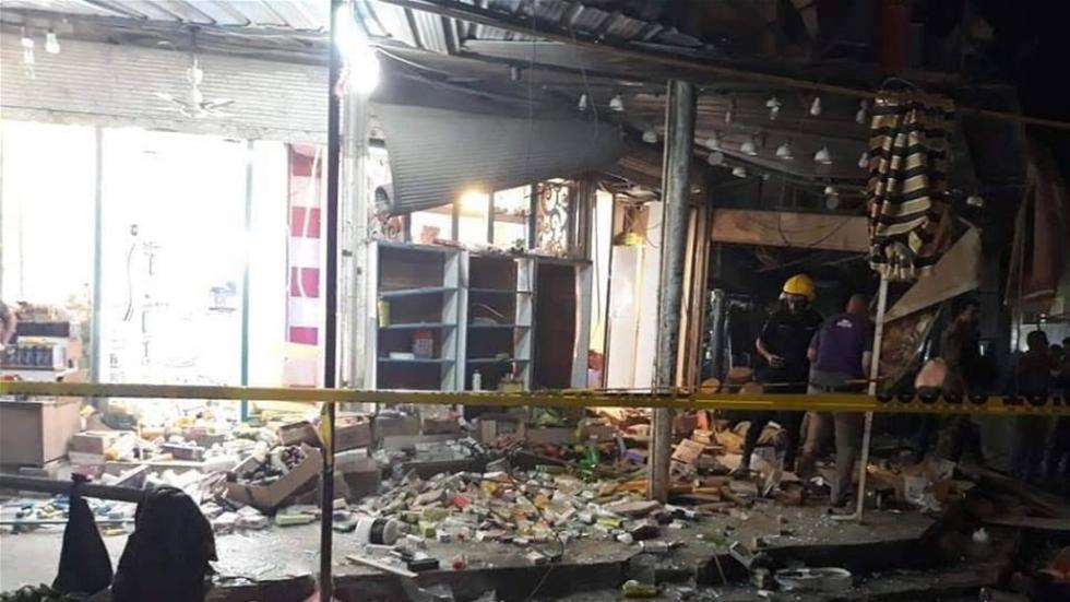 伊拉克中部发生摩托车炸弹爆炸事件 致30多人伤亡