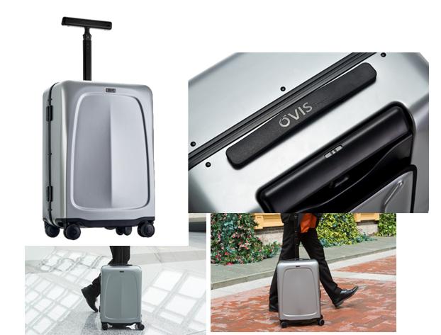 """灵动OVIS开创""""侧跟行李箱""""全新品类"""
