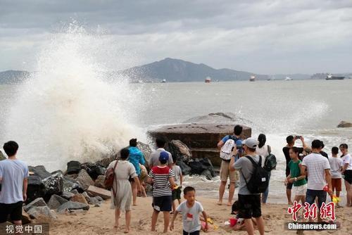 """台风""""白鹿""""穿闽入粤 福建防台应急响应调整为Ⅲ级"""