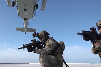 韩国独岛演习打响 首次出动陆军特种部队夺岛