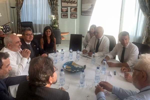 伊朗外长被马克龙邀请到G7峰会举办地 美国懵了
