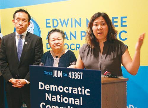 美国华裔国会议员孟昭文:望亚裔参政比例提高