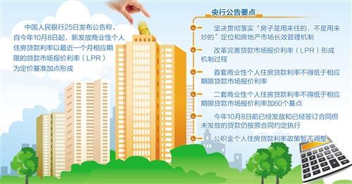 央行:保持个人住房贷款利率基本稳定