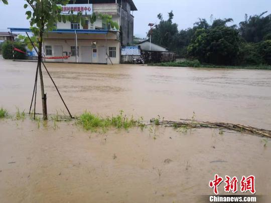 广东惠东连续普降特大暴雨 多个乡镇受灾