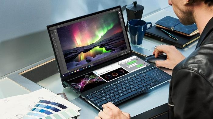 华硕正式开售ZenBook Pro Duo双屏笔记本