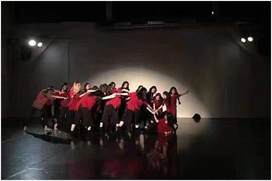 中奥学生艺术团联袂打造动人舞剧
