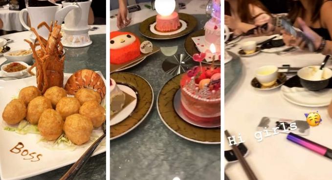 香港女子为朋友庆生吃完饭不掏钱:直接把饭吐出来