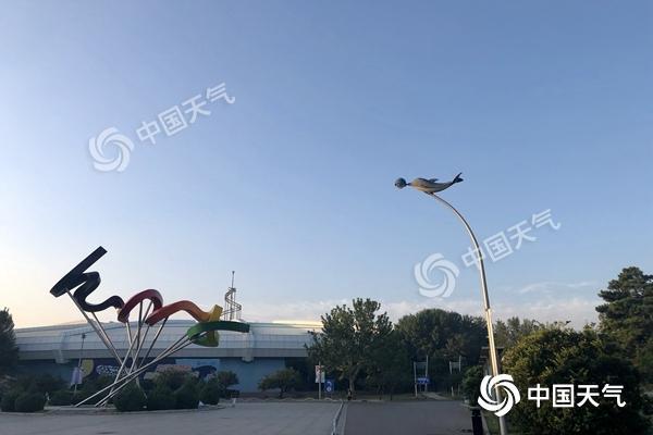 北京晴天上線炎熱回歸 今天最高溫升至33℃