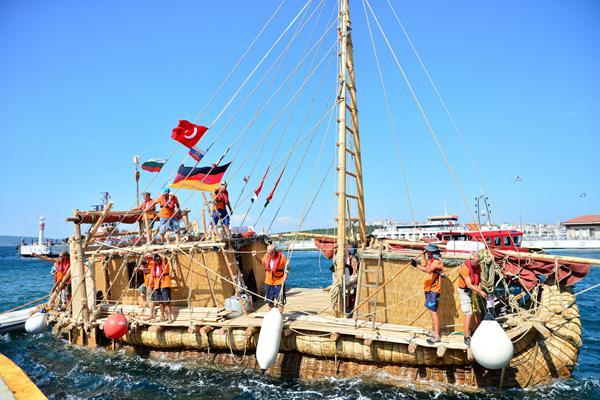 德考古学家用芦苇制作航船 已成功抵达土耳其海岸
