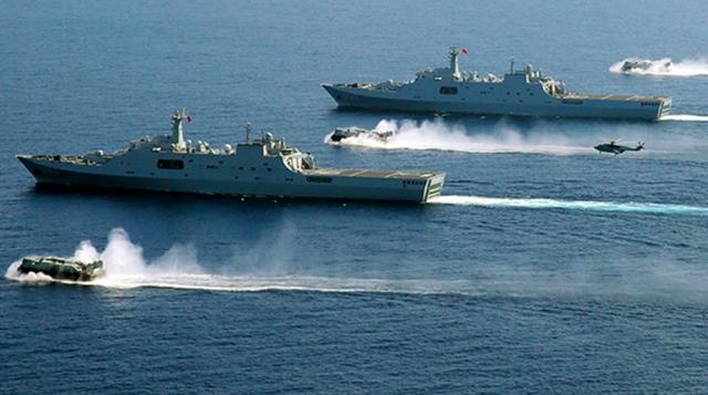 解放军东海军演令台湾紧张