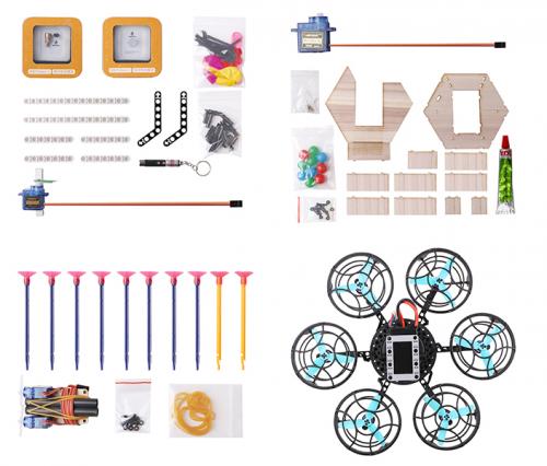 <b>为助推中小学创客教育,创客火推出编程无人机Ghost 应用扩展包</b>