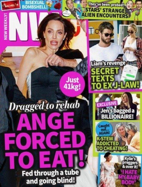 安吉丽娜·朱莉被曝只有41公斤 疑因孩子离开食欲不振