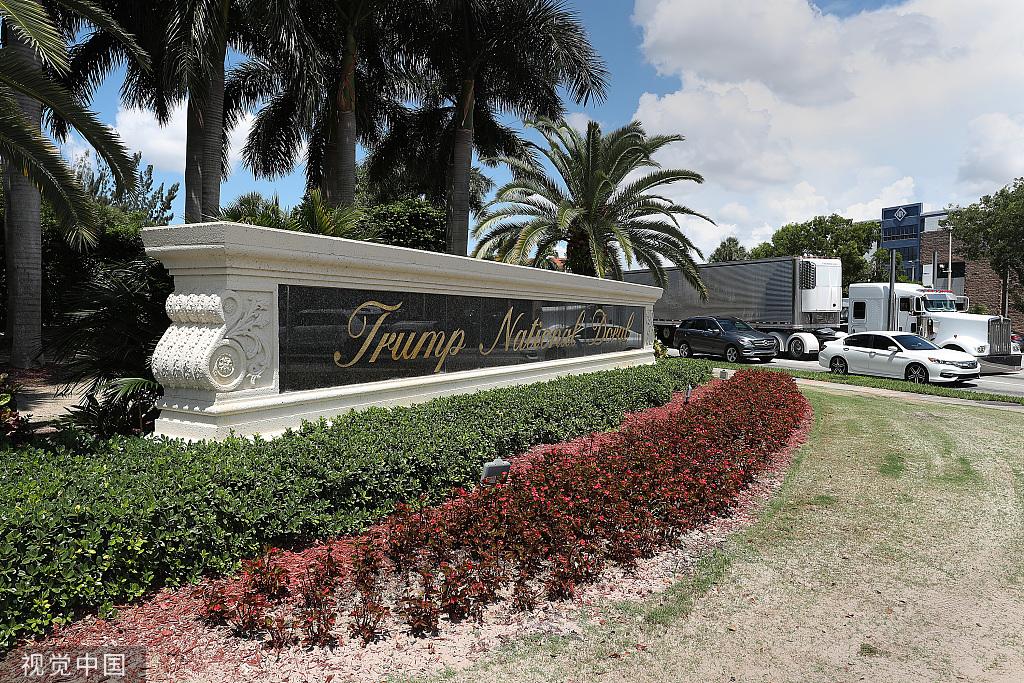 """明年G7要在特朗普的度假村办?特朗普:那里""""没有臭虫"""""""