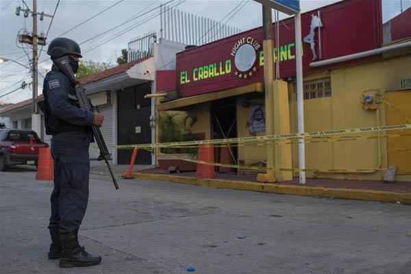 墨西哥东部酒吧纵火事件已致26人死亡