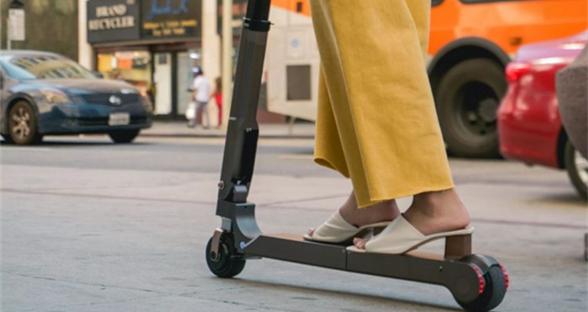 现代推出折叠电动踏板车:时速12.5英里/小时