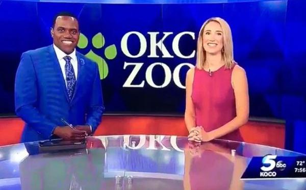 美国白人女主持戏称黑人搭档像猩猩 引起众怒