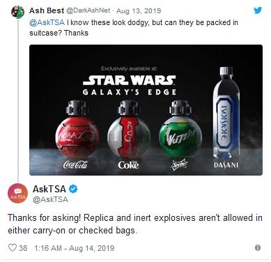 星战迷注意了!美国禁止星战周边可乐瓶上飞机张琪格地震百度云