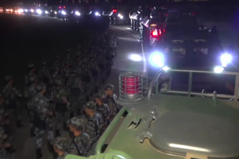 现场视频!解放军驻香港部队组织第22次轮换