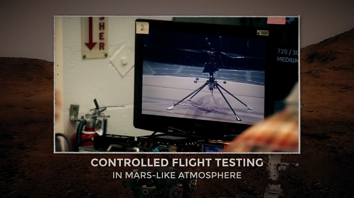 NASA完成首架火星直升机的组装 或于2021年投入使用