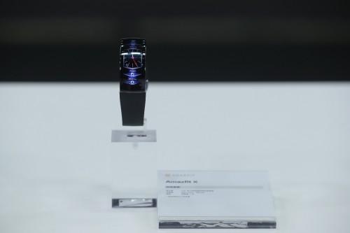 华米科技发布Amazfit X概念手表,一款布局未来的科技力作