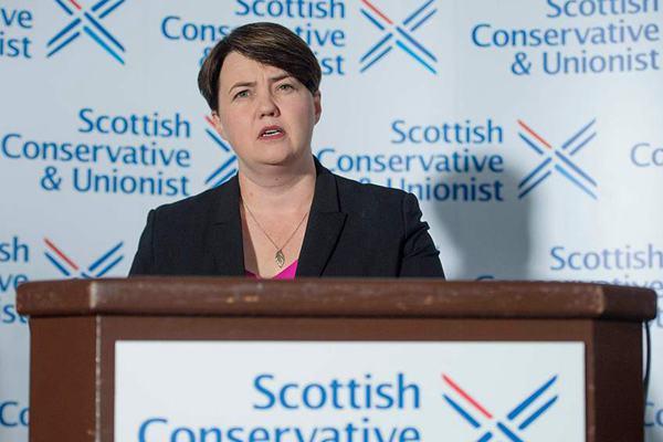 与英国首相意见相左 苏格兰保守党领袖将辞职
