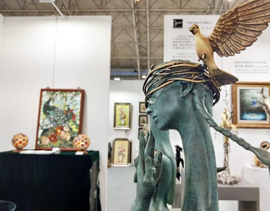 2019北京艺博会国展开幕 汇聚列宾达利作品