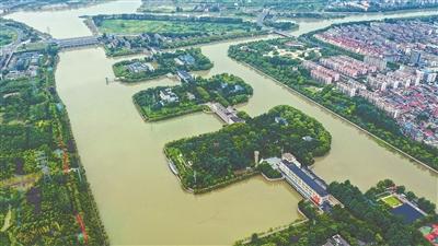 京杭运河江苏段迸发新活力 发挥航运核心功能