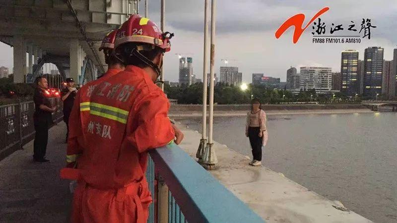 愤怒!连续两晚在钱江四桥跳桥的17岁女孩说出原因!简直了!