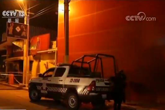 墨西哥东部酒吧纵火案死亡人数上升至29人 总统下令彻查