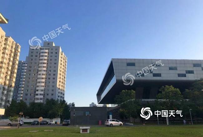 北京周末晴朗在线紫外线强 昼夜温差较大