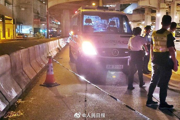 香港特区警务处长强烈谴责持刀袭警事件:将全力追