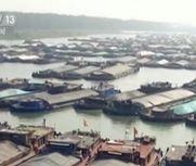 蚌埠段滞留船只超2000艘