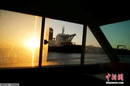 美政府宣布制裁伊朗获释油轮 认定其为封锁财产