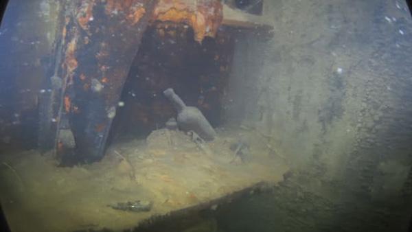 """百多年前英国海军沉船保存完好,""""就像刚被船员们抛弃一样"""""""