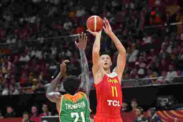 中国队战胜科特迪瓦队 取得男篮世界杯开门红