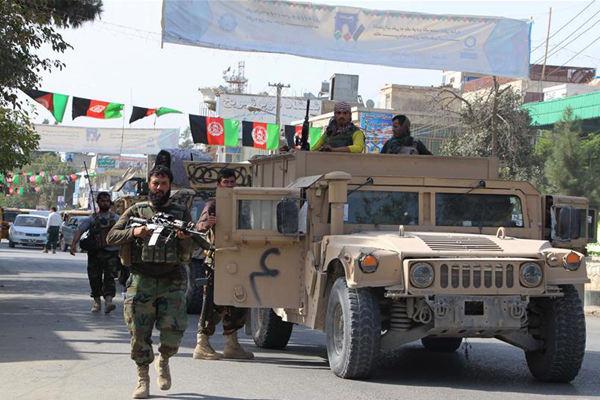 塔利班袭击阿富汗北部城市 安全部队击毙38名武装分子