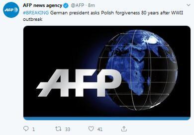 快讯!二战爆发80周年,德国总统请求波兰原谅