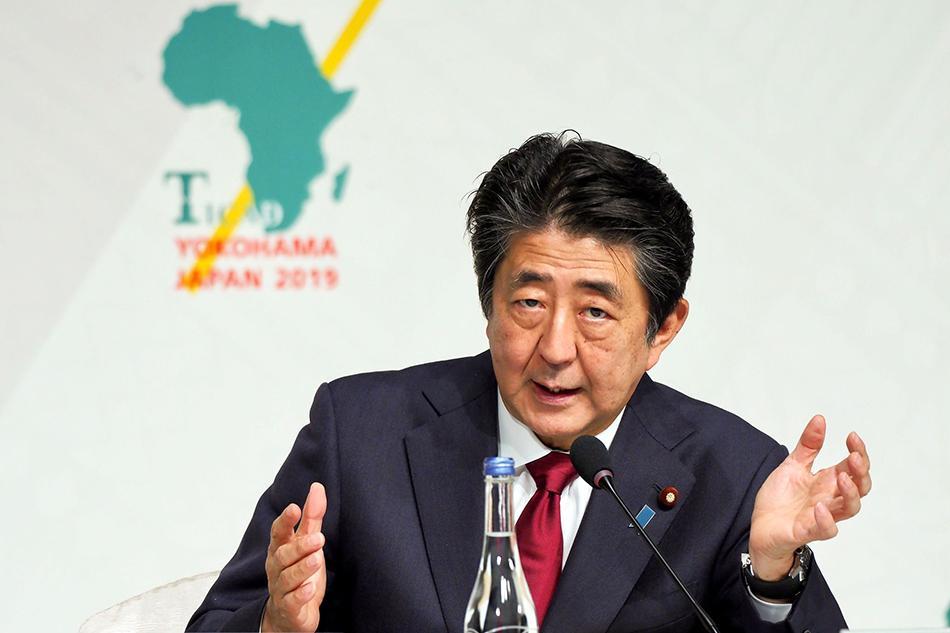 安倍参加非洲开发会议,四天共会晤47国首脑