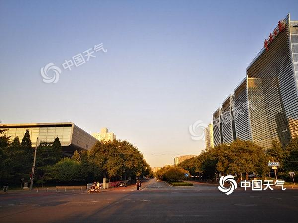 ?北京晴天當道最高氣溫33℃